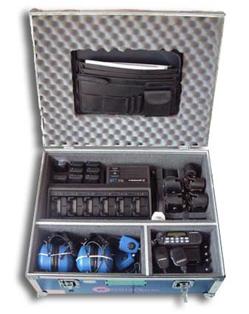 First Motorola hazardous area radio kit